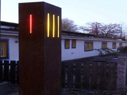 Skulpturenweg Wörthsee Farbverlauf – Foto: Gerhard Gerstberger