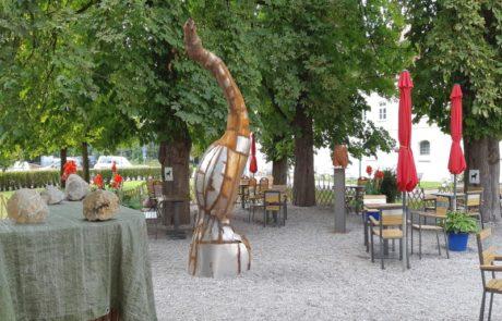 Hansjürgen Vogel, Pferdeskulptur Im Klosterstüberl Fürstenfeldbruck