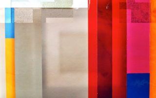 Celia Mendoza, St. Wendel rotes Fenster