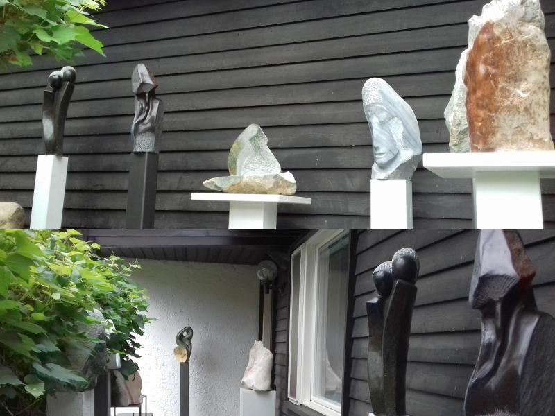 Skulpturen von Brigitte Cabell