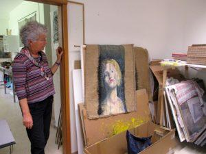 Atelierbesuch bei Eva-Maria Kränzlein