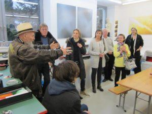 Führung im Atelierhaus Streitfeld