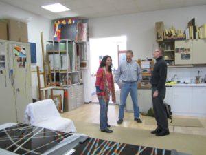 Atelierbesuch bei Celia Mendoza & Friedrich Pröls